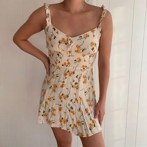 Reformation Elyse Floral Dress